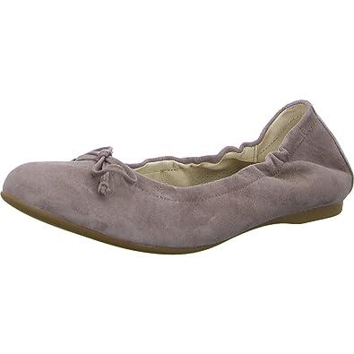 4375bbb6a7 Gabor Women's Ribera Ballet Flats Beige Size: 10 UK: Amazon.co.uk ...