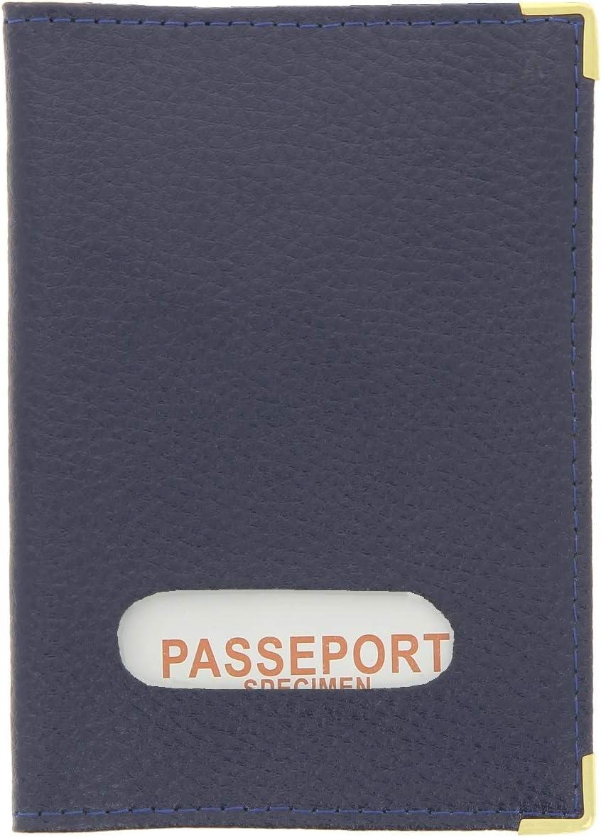 KARL LOVEN Porte-Passeport en Cuir Homme Femme /étui Passeport Housse Portefeuille de Voyage Carte Protection
