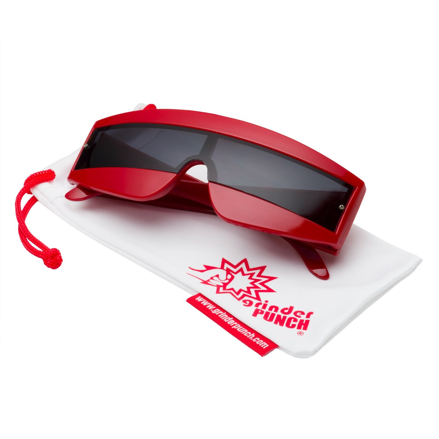 Amazon.com: grinderPUNCH Futuristic Cyclops Color Mirrored Lens ...