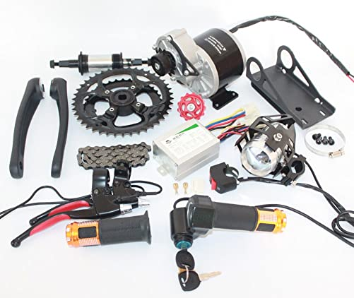 L-faster 24V36V 350W Electric Bicycle MID-Drive Motor KIT HIGH Speed Electric Scooter DIY Homemade Electric Bike 24V 350W Brushed Motor