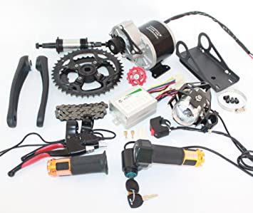 24v36v 350w Electric Bicycle Mid Drive Motor Kit High