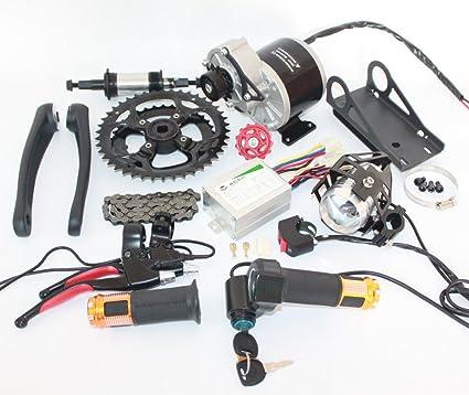 48V 450W Electric Mountain Bike Mid-Drive Conversion Kit Electric Bike Kit  Diy E-Bike Parts