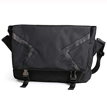 Satchel Outdoor Casual Fashion One Shoulder Sports Travel Multi-Function Black