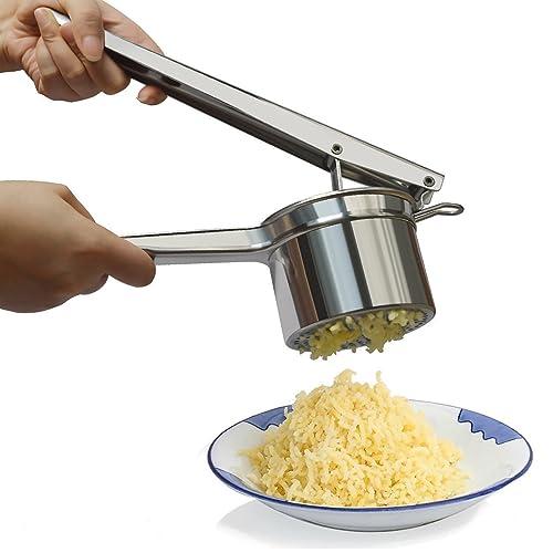 Potato Ricer, Stainless Steel Potato Masher, Ricer Press For Puree Fruit Vegetable Maker