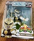 Jada Toys Metals Power Rangers ; Classic Figure - White Ranger (M406) Toy Figure