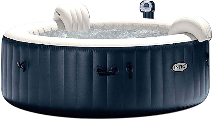 2 Pieces Jacuzzi Spa Booster Seat Soft Water Inflatable Hot Tub Cushion