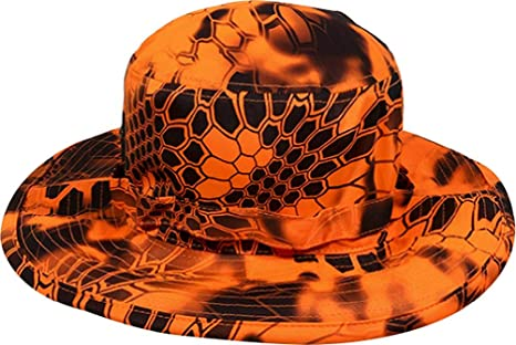 100830dba887b Amazon.com   Kryptek Inferno Camo Boonie Hat   Sports   Outdoors