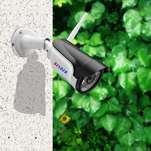 Outdoor Security Camera, Full HD 1080P WiFi Security IP
