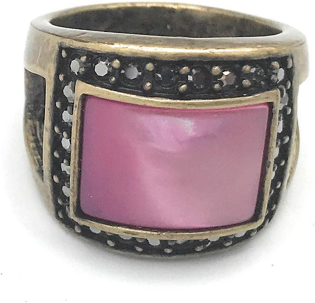 Lia Sophia Mulberry Ring Size 9