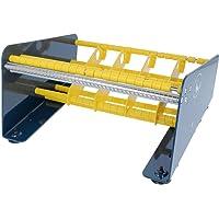 TE-Office Labeldispenser Labeldispenser van staal voor zelfklevende etiketten tafelapparaat handmatig tot 265 mm…