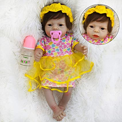 Real Looking Reborn Toddler Doll 22/'/'55cm Realistic Lifelike Baby Girl Presents