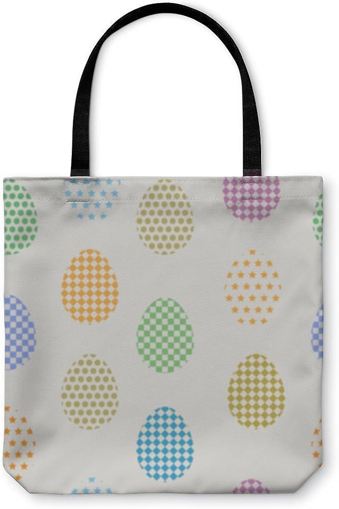 Pattern Easter Eggs 816281GN Gear New Shoulder Tote Hand Bag