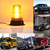 Gledto-Auto-Led-Strobe-Light-Super-Bright-30-LEDs-15W-Law-Enforcement-Waterproof-Emergency-Hazard-Warning-Flashing-Car-SUV-Truck-Vehicle-Construction-LED-Strobe-Light-Lamp-With-Screw-Base-Yellow