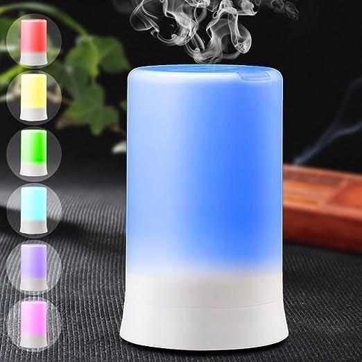46 opinioni per DLAND 7 colori Aromaterapia elettrico Olio essenziale diffusore freddo della