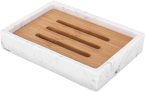 Diatomite Soap Dish Storage Holder Bath Shower Plate Drain Rack Bathroom Tools