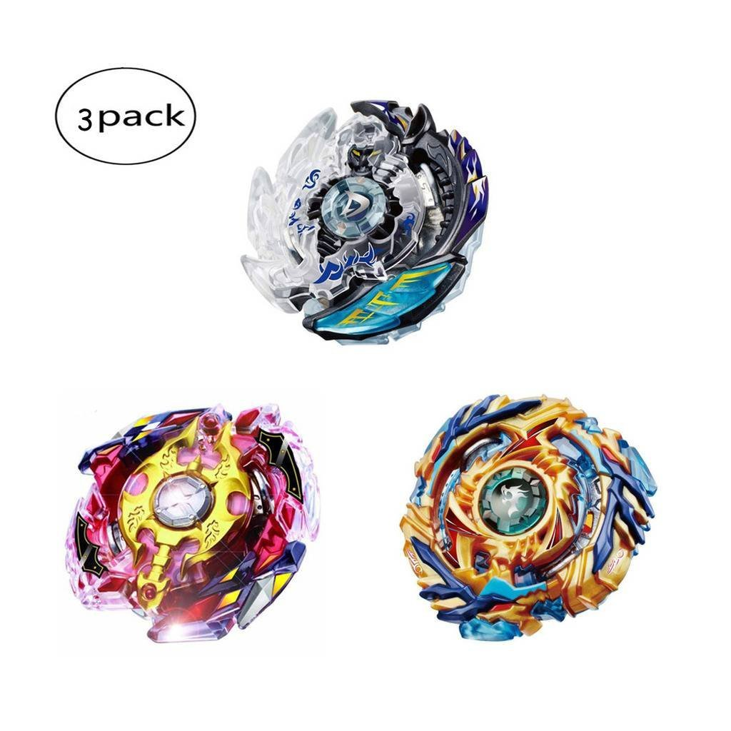PZEMIN Beyblade B79+B85+B86 Spinning Top Gyro Burst Beyblade Gyroscope Puzzle Jouet Creative Cadeaux Jouets /Éducatifs pour Gar/çons Enfants