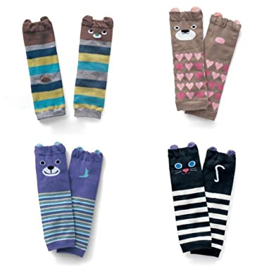 87ce4348b 5pair/lot Baby Leg Warmers Cotton Kids Child Girls Boys Leg Warmers Tights  Child Knee