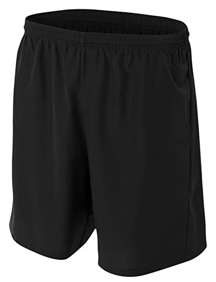 NB5343 A4 Youth Comfortable Moisture Wicking Polyester Woven Soccer Short