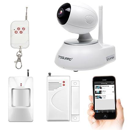 toguard todo en uno WiFi Smart HD IP cámara inalámbrica Vigilancia de Seguridad para el hogar
