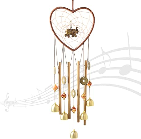 Shangtianfeng Wind Chimes Wind Chimes Outdoor Garden Gifts Gifts For Mom Gifts For Grandma Wind Chimes Indoor Garden Decor Yard Decor Outdoor Decor Memorial Wind Chimes Elephant Wind Chimes Amazon Ca Patio Lawn
