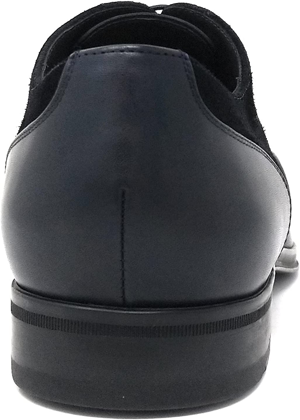 Hugo Boss Mens Eton Oxfr sdct Dark Blue Sz 8.5 US