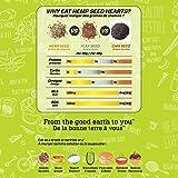 No1 Organic Hemp Seed Hearts (1lbs) | NATERA Plant Based Vegan Friendly Protein Supplement