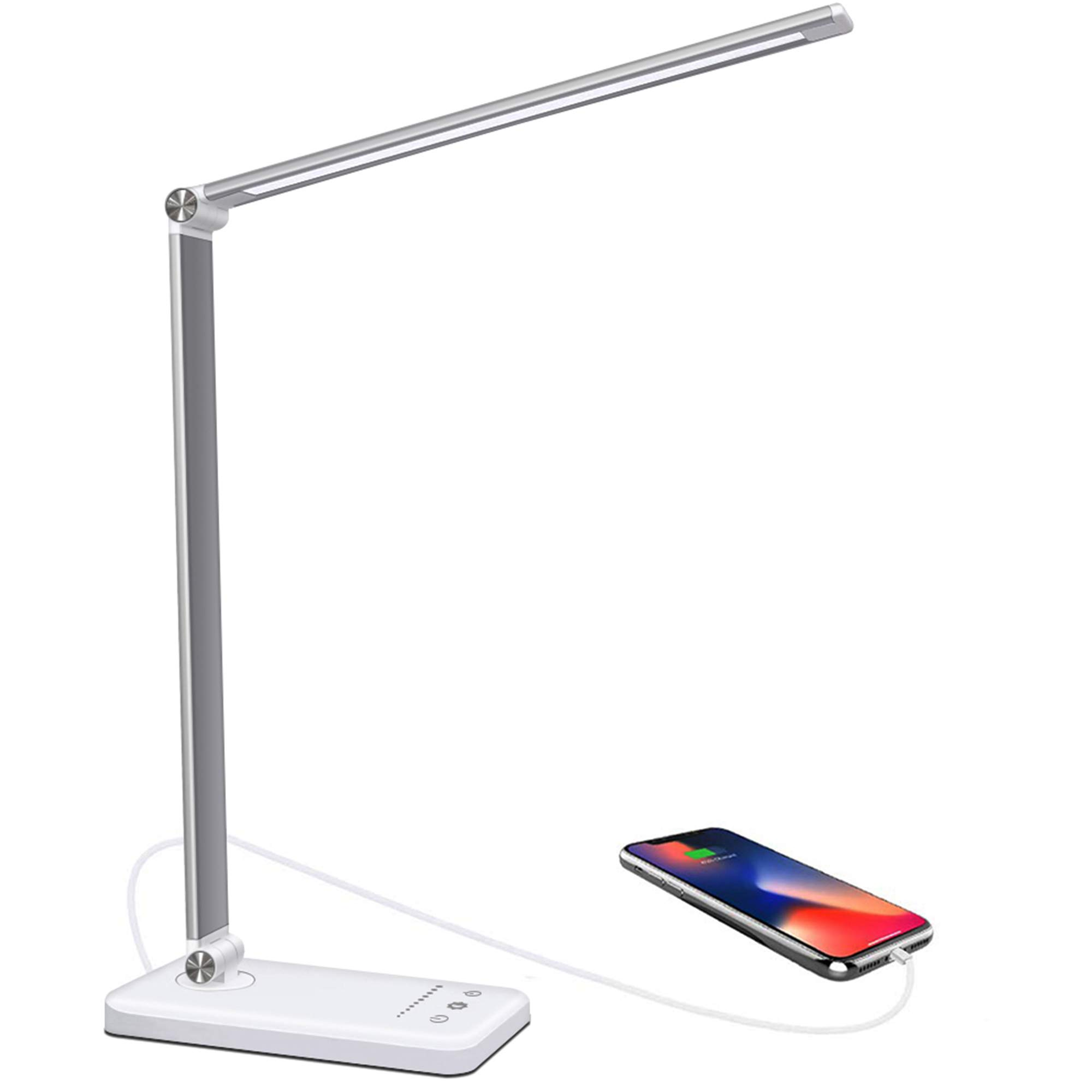 Led Desk Lamp 50 Brightness Mode Dimmable Led Table Lamp 52 Smd Eye Friendly Leds With Usb Power Cable Foldable Touch Control Bedside Lamp Ideal For Readers Children Office Non Rechargeable Buy Online In Antigua
