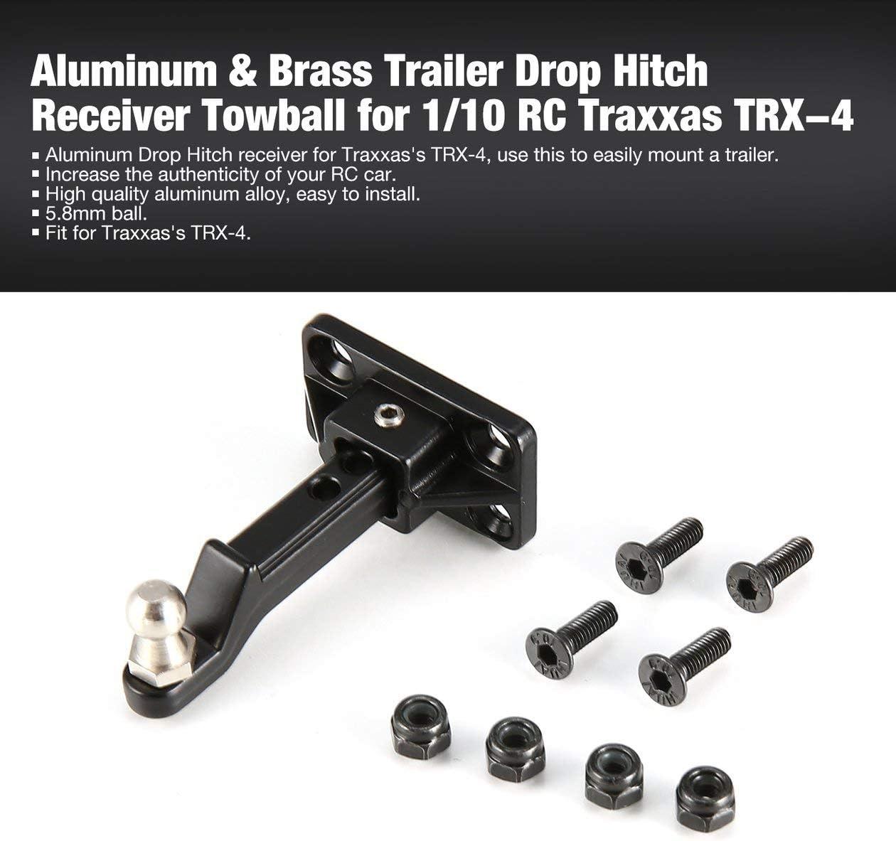 Remolque de Aluminio Drop Hitch Auto Cola Gancho Towball con ...