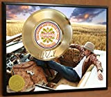 #4: KID ROCK LIMITED EDITION SIGNATURE LASER ETCHED POSTER ART GOLD RECORD DISPLAY