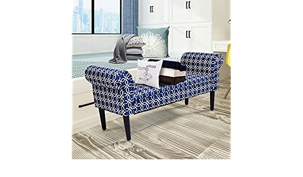 Pleasing Amazon Com Kanizz Linen Sofa Bench 53 5 Inches Rolled Arm Gamerscity Chair Design For Home Gamerscityorg