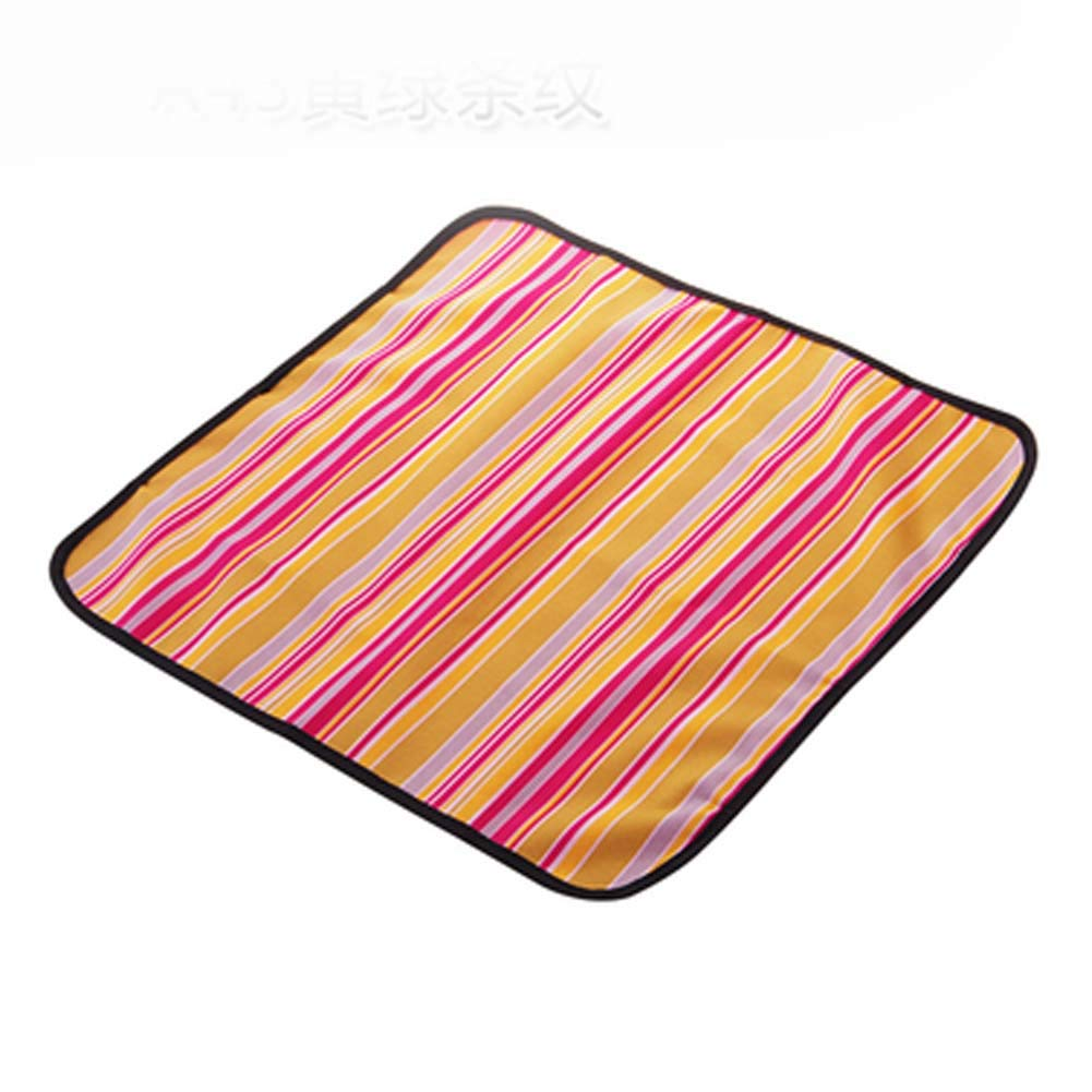 Portable Picnic Waterproof Oxford Cloth Travel Mat Stripes (19.7 Inch /8 Pcs)