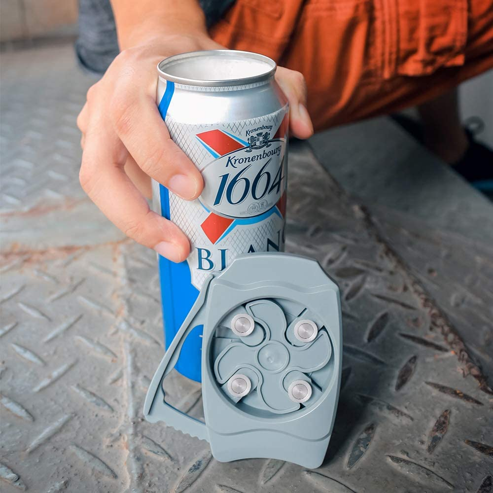 Go Swing Topless can opener and bottle opener Draft top Beer can ...