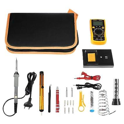 Myron Multímetro Digital, Kit De Cautín, Varios Kits De Soldadura De Reparación-60W