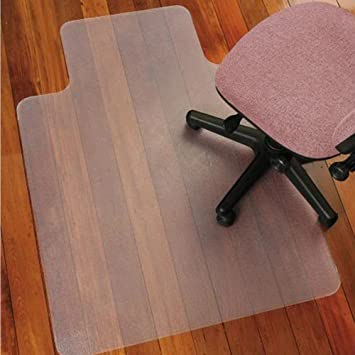 atr transparent chair mat lip hard floor 36 x 48 chair mat