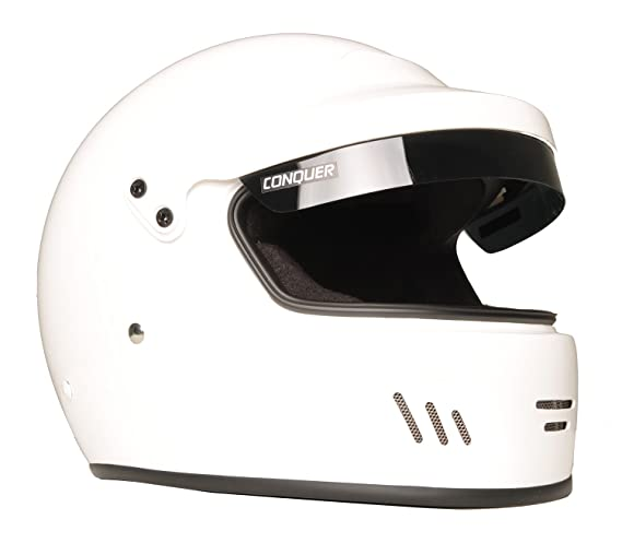 Conquer Full Face Rally Racing Helmet Snell SA2015 FF RALLY