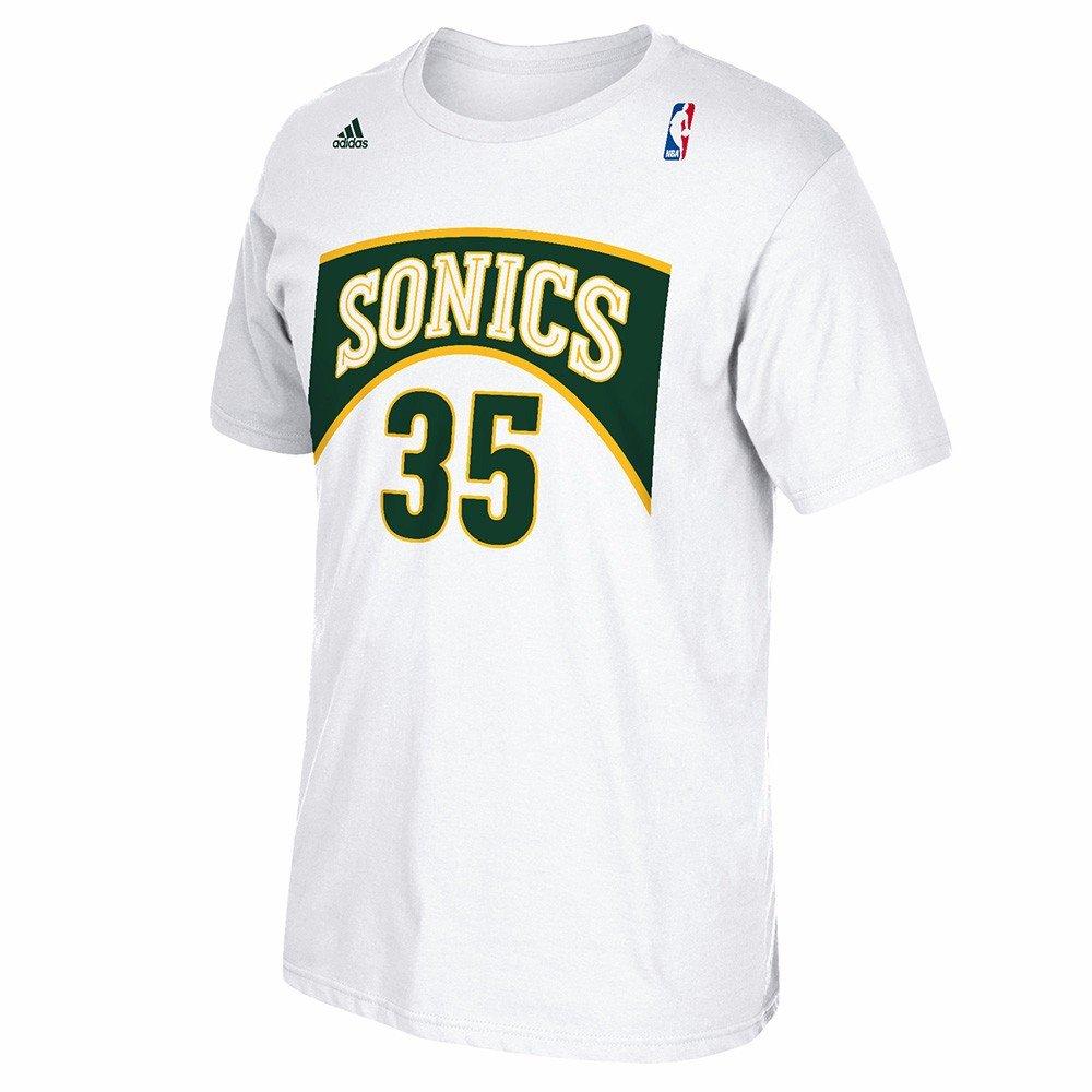 Adidas Kevin Durant Seattle Supersonics NBA Hombres Color Blanco Alma Swingman Nombre & número Jersey Camiseta, XL, Blanco: Amazon.es: Deportes y aire libre