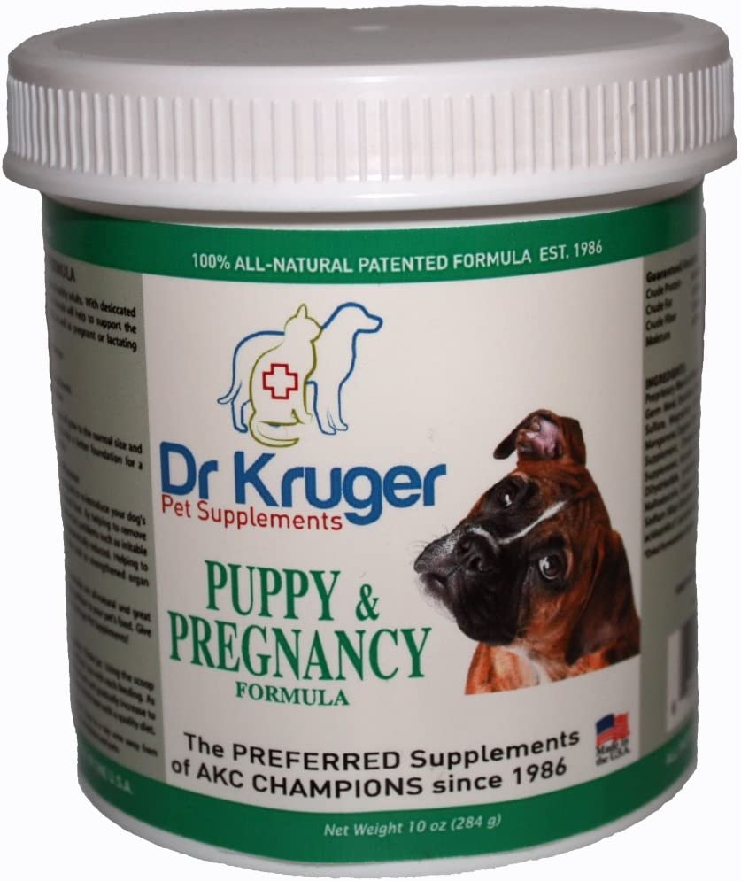 Dr Kruger Pet Supplements Puppy Pregnancy Formula – 10 Ounces