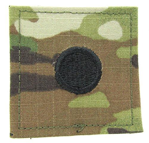 OCP RANK Insignia HOOK Fastener 2LT / CADET - Large Dot 3/4 Inch (Cadets Uniform)