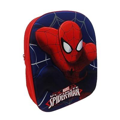 Spiderman Licensed Backpack and Umbrella