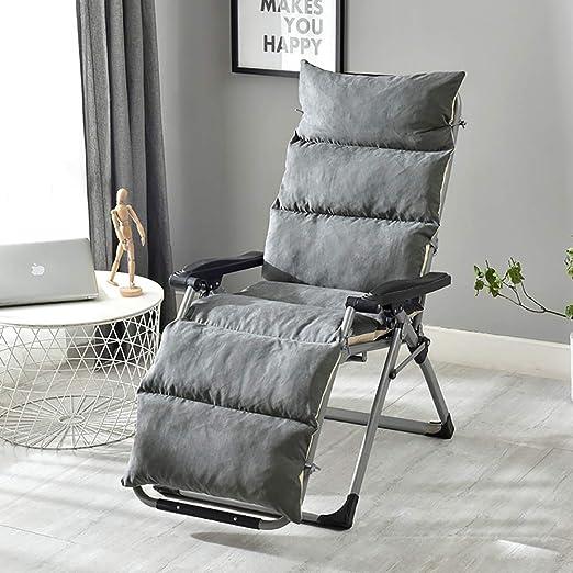 GGNHBH Cojines para sillas de jardín, edición baño de Sol Silla Tumbona Monocromo esteras Antideslizantes Cojines de diseño Dick sillones Tumbona Edition,B,125x50x12cm: Amazon.es: Hogar