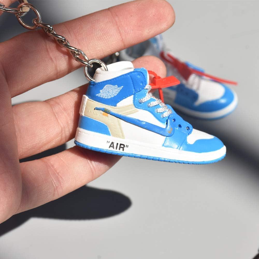 Fashion mini sneaker 3D Keychain figure AJ1/ /20/】 【 1 6/con scatola per regalo di Natale 1002