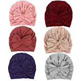 Newborn Baby Cotton Cloth Turban Toddler Rabbit Hospital Hat Ear Hat Kids Set Baby Cap (MN18) (Color: Mn18, Tamaño: One Size)