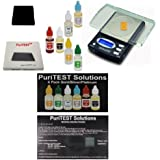 Precious Metals Test Kit with Digital Lab Scale - Testing Metal Detector Finds, Scrap Jewelry, Metal Detector Finds Purity Quality Gold Silver