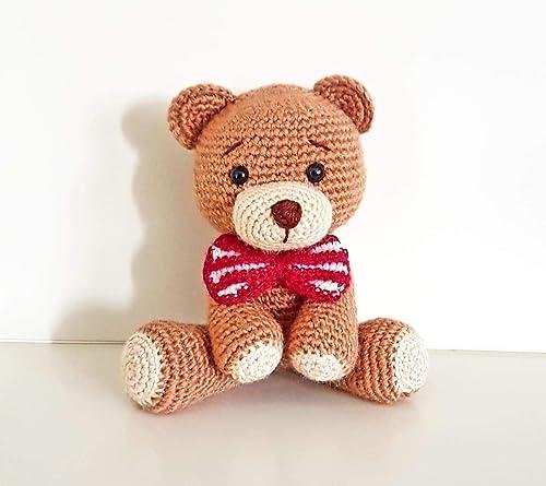 Uncinetto amigurumi orsetto relax - relax bear amigurumi - YouTube | 445x500