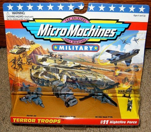 Micro Machines Nightfire Force #11 Military Collection for sale  Delivered anywhere in USA