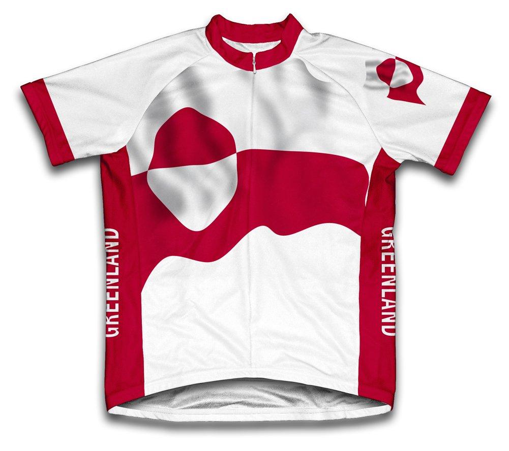 Grünland Flag Radsport Trikot mit kurzer Ärmel für Menner