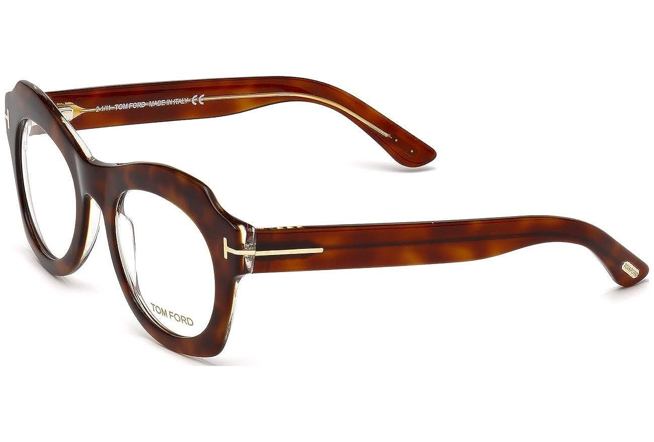 b82d9b209860 Eyeglasses Tom Ford TF 5360 FT5360 056 havana other at Amazon Women s  Clothing store