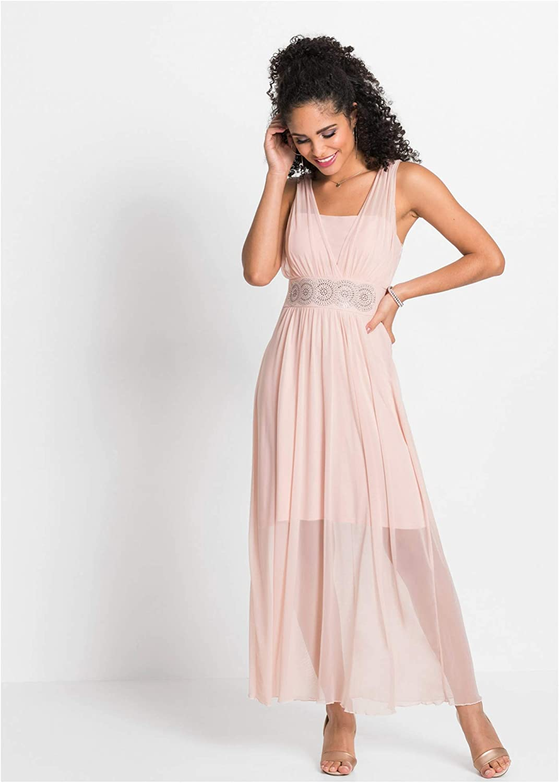 bonprix Kleid mit Strasssteinen für Damen
