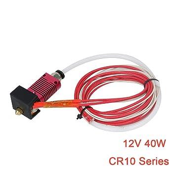 Redrex Extrusora Hot End para Creality CR-10, CR-10S, CR-10S4, CR ...
