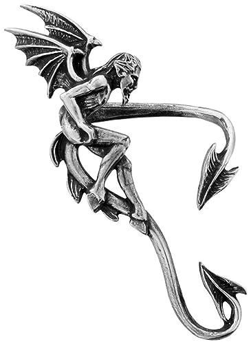 Alchemy Gothic Devil's Den Ear Wrap nj6YPDK2vB
